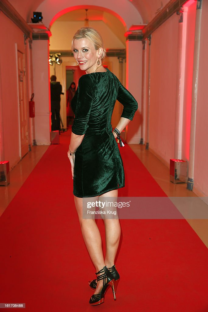 Eva Habermann attends the 5th '99Fire-Films-Award' - Red Carpet Arrivals at the Admiralspalast on February 14, 2013 in Berlin, Germany.