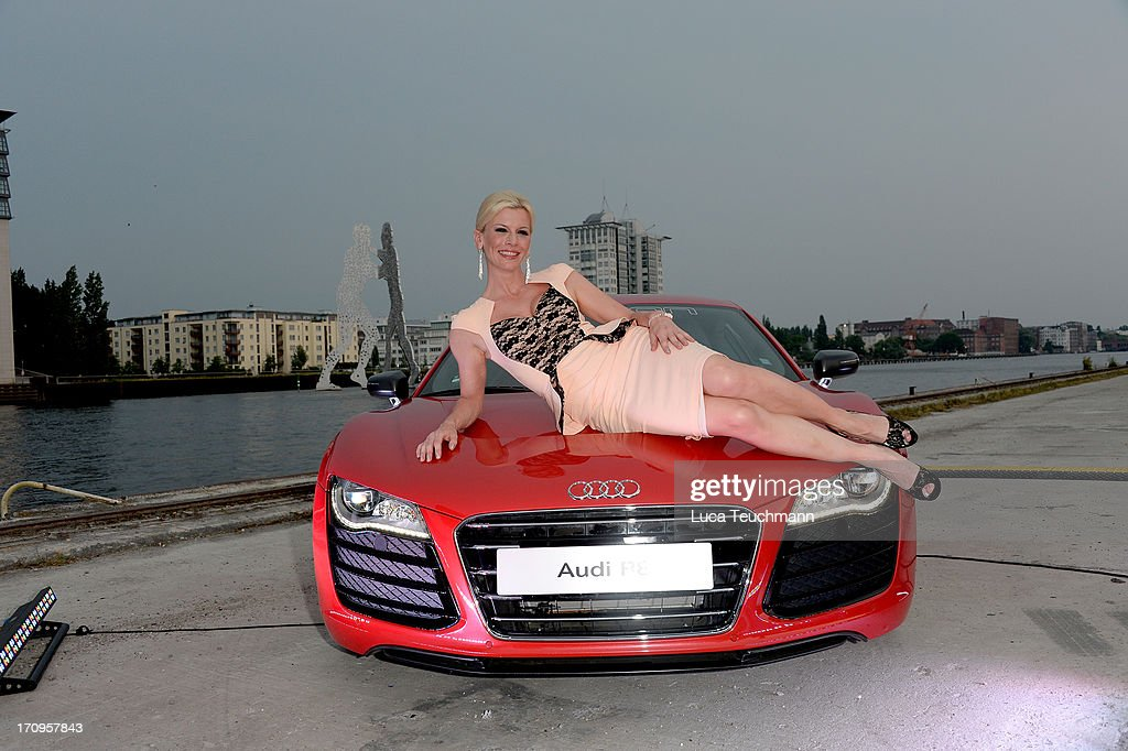 Eva Habermann attends the ' Audi Urban Cinema ' on June 20, 2013 in Berlin, Germany.