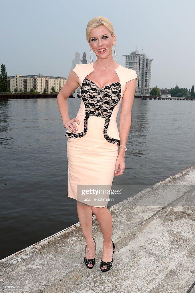Eva Habermann attends the ' Audi Urban Cinema ' on June 20, 2013 in Berlin, Germany.