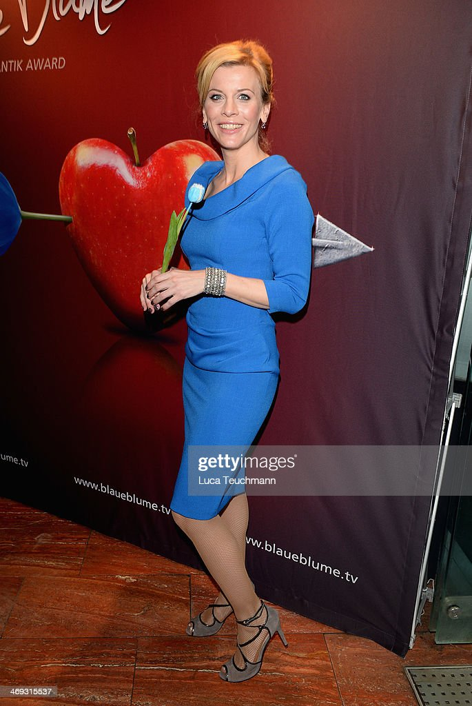 <a gi-track='captionPersonalityLinkClicked' href=/galleries/search?phrase=Eva+Habermann&family=editorial&specificpeople=224519 ng-click='$event.stopPropagation()'>Eva Habermann</a> attends the Blaue Blume Awards during 64th Berlinale International Film Festival on February 14, 2014 in Berlin, Germany.