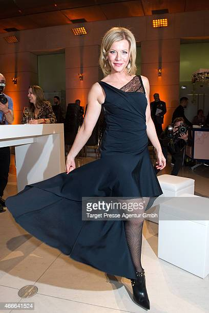Eva Habermann attends the Deutscher Hoerfilmpreis 2015 at Deutsche Bank on March 17 2015 in Berlin Germany