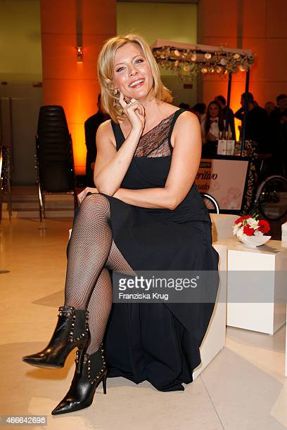 Eva Habermann attends the Deutscher Hoerfilmpreis 2015 on March 17 2015 in Berlin Germany