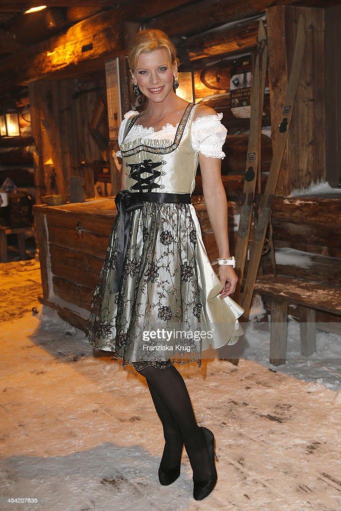 Eva Habermann attends the Dorfstadl Evening - Tirol Cross Mountain 2013 on December 07, 2013 in Innsbruck, Austria.