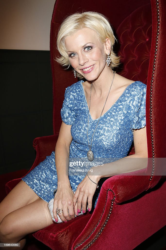 Eva Habermann attends the 'Laurel After Show Party - Mercedes-Benz Fashion Week Autumn/Winter 2013/14' at Soho House on January 17, 2013 in Berlin, Germany.