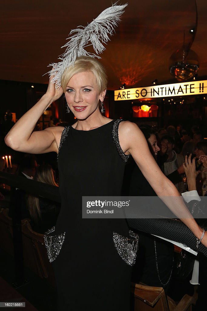 <a gi-track='captionPersonalityLinkClicked' href=/galleries/search?phrase=Eva+Habermann&family=editorial&specificpeople=224519 ng-click='$event.stopPropagation()'>Eva Habermann</a> attends the Lazy Moon Dinner Club opening party on February 20, 2013 in Munich, Germany.