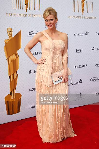 Eva Habermann attends the Lola German Film Award 2014 at Tempodrom on May 09 2014 in Berlin Germany