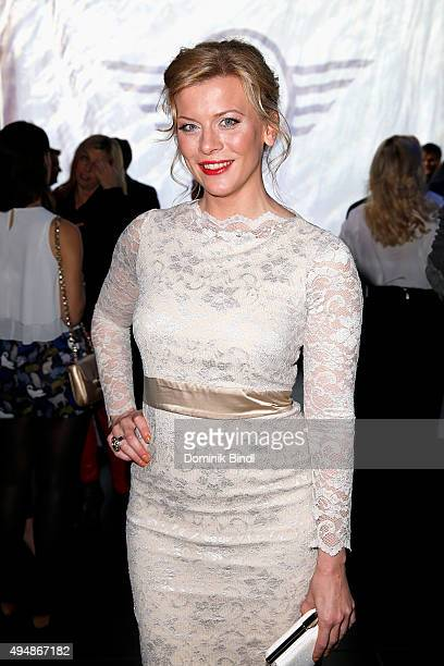 Eva Habermann attends the premiere of the new MINI Clubman on October 29 2015 in Munich Germany