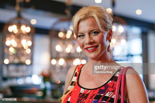 Eva Habermann attends the Wanawake Ladies Dinner at Hotel Zoo on July 05 2015 in Berlin Germany