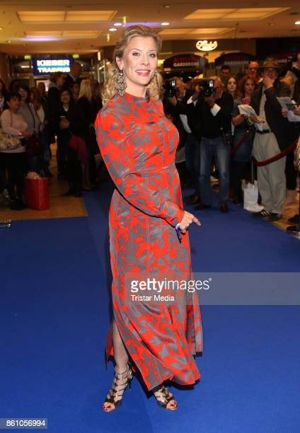 Eva Habermann during the Late Night Shopping Party at Alstertal Einkuafszentrum on October 13 2017 in Hamburg Germany