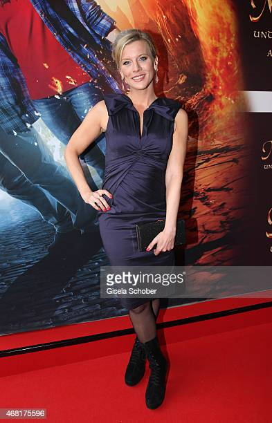 Eva Habermann during the Munich premiere of the film 'Mara und der Feuerbringer' at Arri Kino on March 30 2015 in Munich Germany