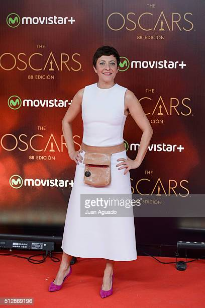 Eva Hache attends Oscars Party at Principio Pio Theater on February 28 2016 in Madrid Spain