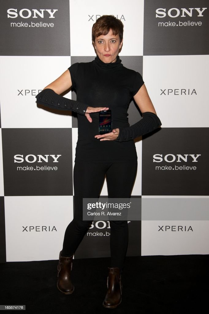 Eva Hache attends the Sony Mobile Gala premiere at the Callao cinema on March 12, 2013 in Madrid, Spain.