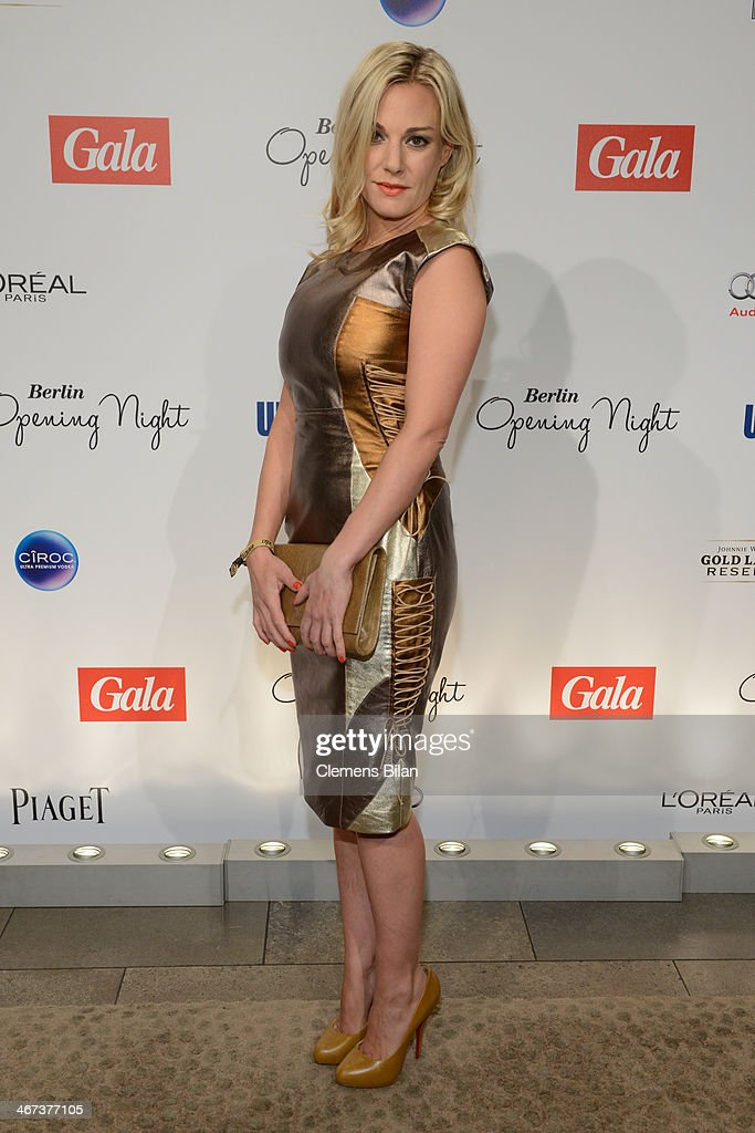 <a gi-track='captionPersonalityLinkClicked' href=/galleries/search?phrase=Eva+Hassmann&family=editorial&specificpeople=584334 ng-click='$event.stopPropagation()'>Eva Hassmann</a> attends the Berlin Opening Night Of Gala & Ufa Fiction during the 64th Berlinale International Film Festival at Hotel Das Stue on February 6, 2014 in Berlin, Germany.