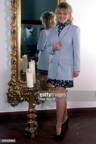 Eva Herman in Kleidung aus ihrer für den 'Otto'Versand entworfenen ModeKollektion Homestory am in Hamburg Deutschland