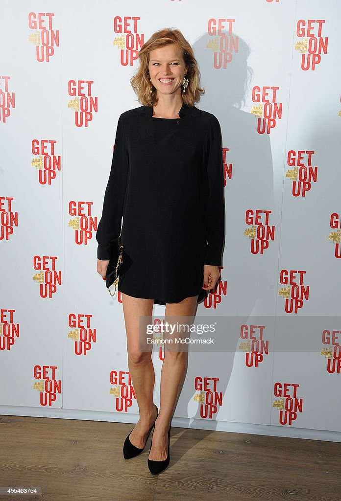 Eva Herzigova attends a special screening of 'Get On Up' on September 14, 2014 in London, England.