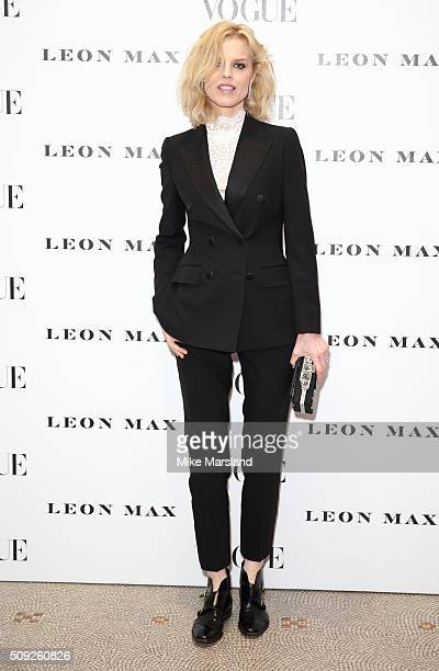 Eva Herzigova attends at Vogue 100 A Century Of Style atNational Portrait Gallery on February 9 2016 in London England