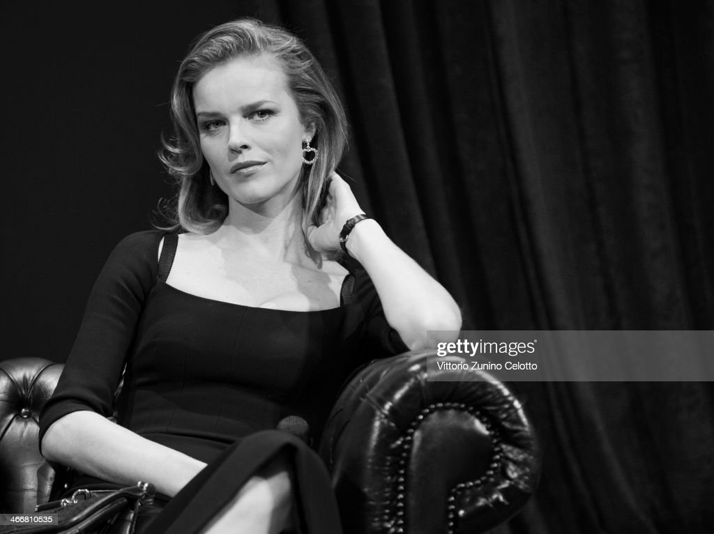 <a gi-track='captionPersonalityLinkClicked' href=/galleries/search?phrase=Eva+Herzigova&family=editorial&specificpeople=156428 ng-click='$event.stopPropagation()'>Eva Herzigova</a> attends Project Runway photocall on February 4, 2014 in Milan, Italy.