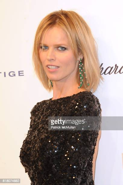 Eva Herzigova attends ROBERTO CAVALLI 40th Anniversary Event CONTACT SIPA PRESS FOR SALES at Les BeauxArts de Paris on September 29 2010 in Paris...