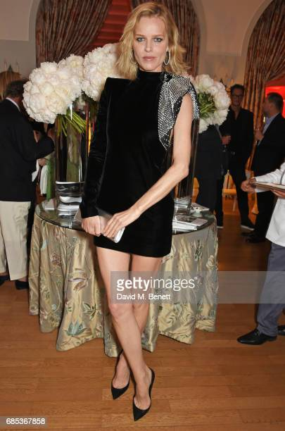 Eva Herzigova attends The 9th Annual Filmmakers Dinner hosted by Charles Finch and JaegerLeCoultre at Hotel du CapEdenRoc on May 19 2017 in Cap...