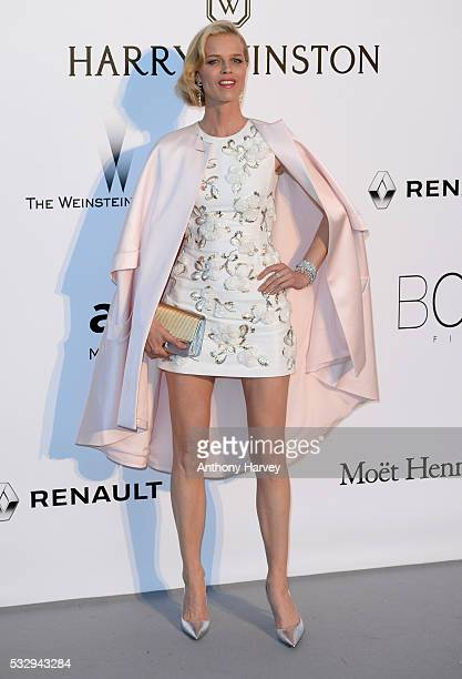 Eva Herzigova attends the amfAR's 23rd Cinema Against AIDS Gala at Hotel du CapEdenRoc on May 19 2016 in Cap d'Antibes France