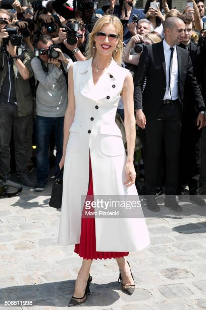 Eva Herzigova attends the Christian Dior Haute Couture Fall/Winter 20172018 show as part of Paris Fashion Week on July 3 2017 in Paris France
