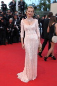Eva Herzigova attends the Opening Ceremony and 'Moonrise Kingdom' Premiere during the 65th Annual Cannes Film Festival at the Palais des Festivals on...