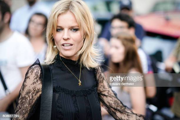 Eva Herzigova attends the Vogue Foundation Dinner during Paris Fashion Week Haute Couture Fall/Winter 20172018 on July 4 2017 in Paris France