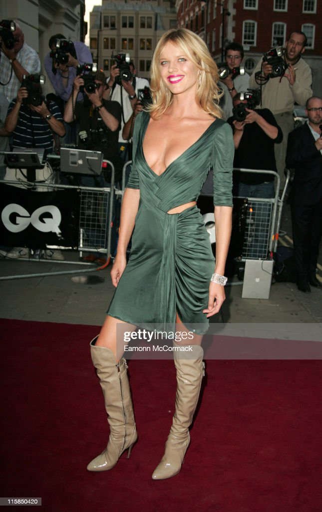 Eva Herzigova during GQ Men of the Year Awards - Outside Arrivals at Royal Opera House in London, Great Britain.