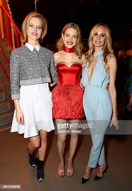 Eva Herzigova Natalia Vodianova and Lauren Santo Domingo attend the The World's First Fabulous Fund Fair hosted by Natalia Vodianova and Karlie Kloss...
