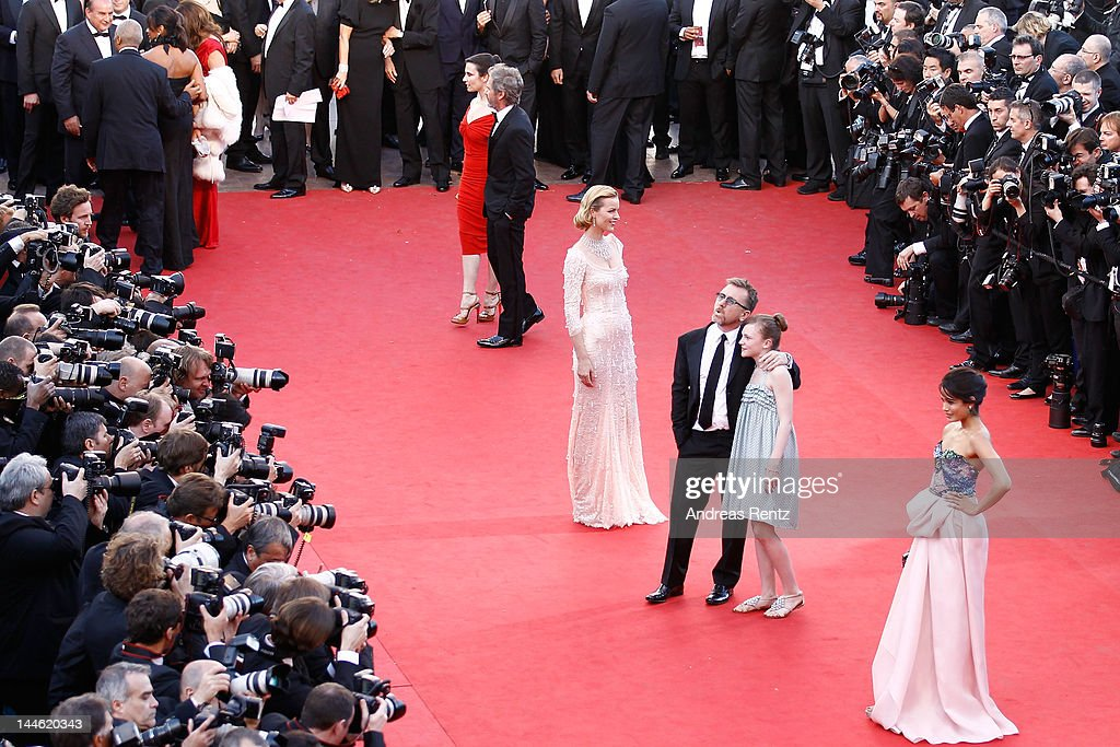 Eva Herzigova Un Certain Regard Jury President Tim Roth and Freida Pinto attend opening ceremony and 'Moonrise Kingdom' premiere during the 65th...