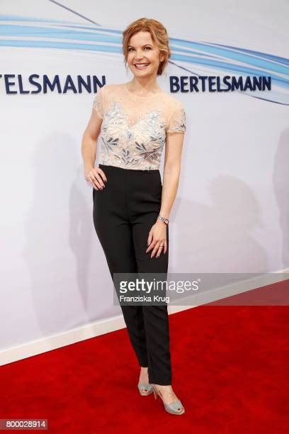 Eva Imhof attends the 'Bertelsmann Summer Party' at Bertelsmann Repraesentanz on June 22 2017 in Berlin Germany