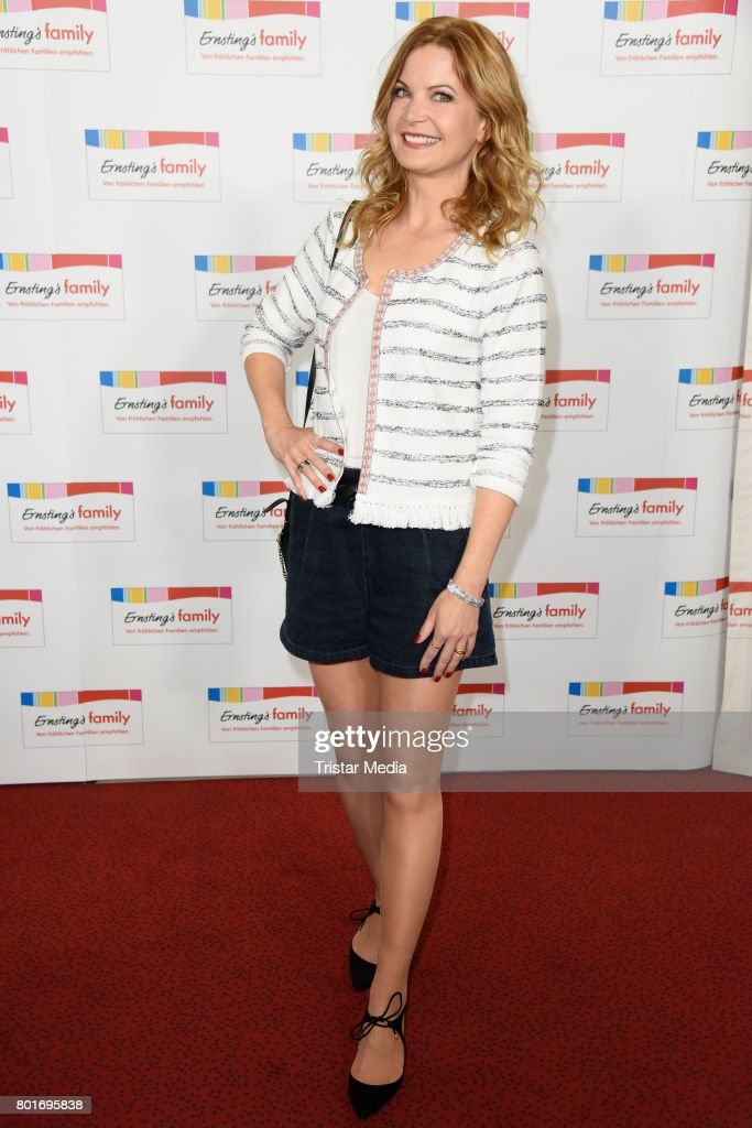 Eva Imhof attends the Ernsting's Family Fashion Show at Stage Operettenhaus on June 26, 2017 in Hamburg, Germany.