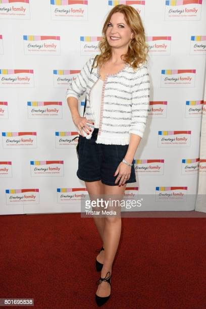 Eva Imhof attends the Ernsting's Family Fashion Show at Stage Operettenhaus on June 26 2017 in Hamburg Germany