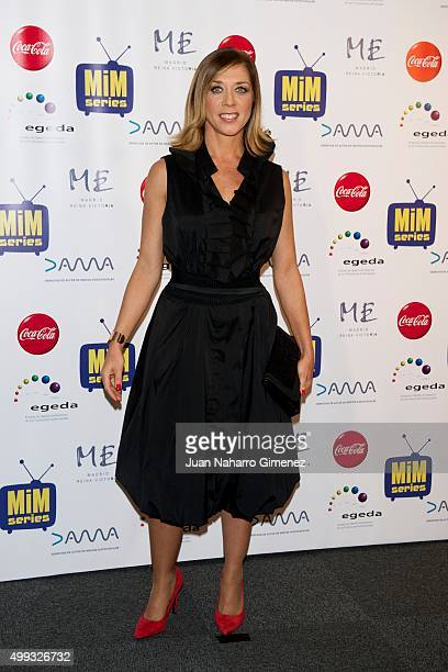 Eva Isanta attends MIM Awards 2015 at Me Hotel on November 30 2015 in Madrid Spain