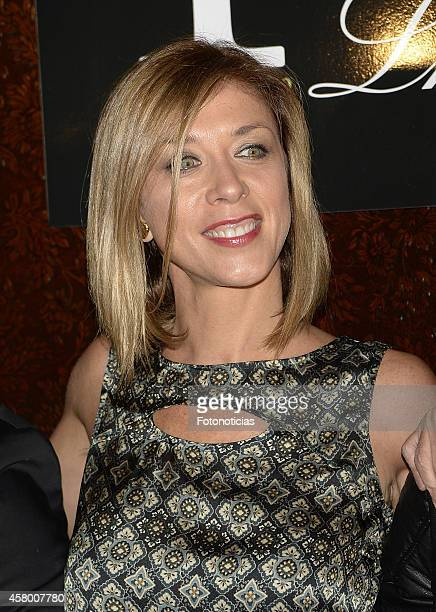 Eva Isanta attends the 'Lhardy' 175th anniversary party on October 28 2014 in Madrid Spain