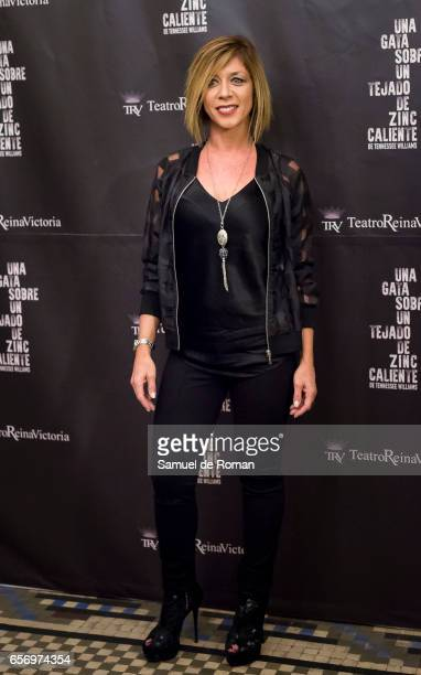 Eva Isanta attends 'Una Gata Sobre Un Tejado de Zinc Caliente' Madrid Premiere on March 23 2017 in Madrid Spain