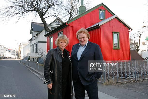 Eva Joly In Iceland Reykjavik Islande 27 mars 2009 L'exjuge d'instruction Eva JOLY a été embauchée par le gouvernement islandais pour enquêter sur la...