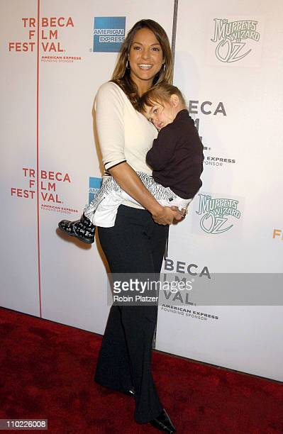 Eva La Rue and daughter Kaya Callahan during 4th Annual Tribeca Film Festival 'The Muppets' Wizard of Oz' Premiere at The Tribeca Performing Arts...