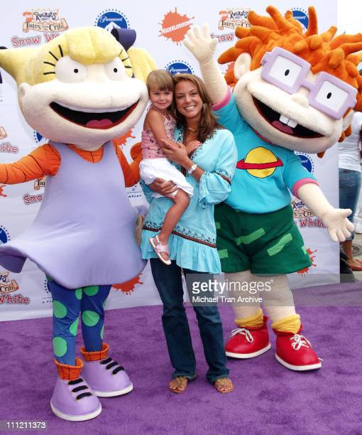 Eva La Rue and daughter Kaya during Nickelodeon Presents Fairypalooza Premiere for 'Rugrats Tales From The Crib Snow White' Arrivals at Nickelodeon...