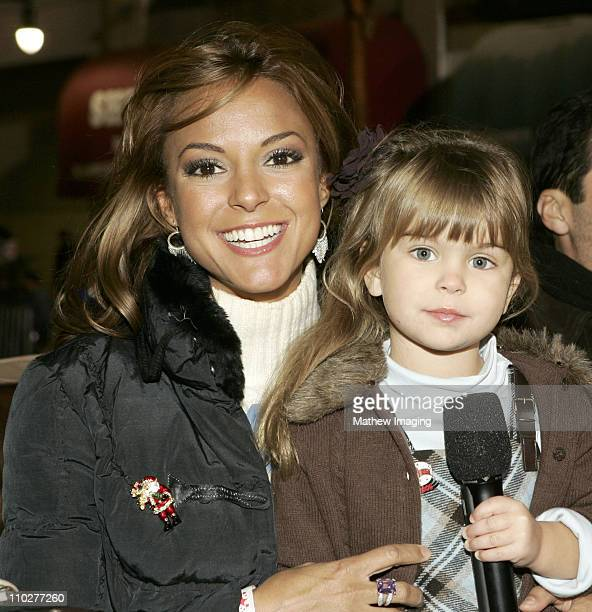 Eva La Rue and daughter Kaya during The 74th Annual Hollywood Christmas Parade Parade Route at Sunset Blvd in Hollywood California United States
