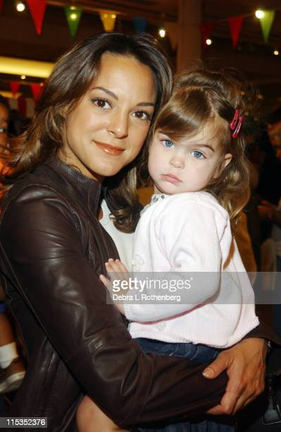Eva La Rue and her daughter Kaya during 3rd Annual 'Children's Day Artrageous' for the Edwin Gould Services for Children and Families at The...