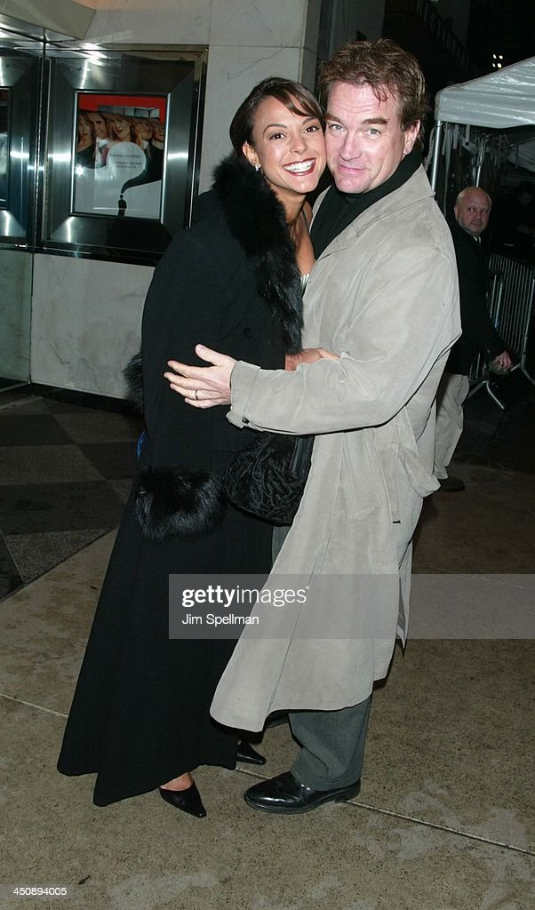 Eva La Rue and husband John Callahan during New York Premiere of The Importance of Being Earnest at The Paris Theatre in New York City, New York, United States.