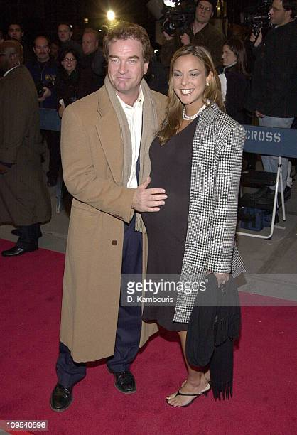 Eva La Rue and husband John Callahan during The First Annual WorldTrAID911 Benefit at Hammerstein Ballroom in New York City at Hammerstein Ballroom...
