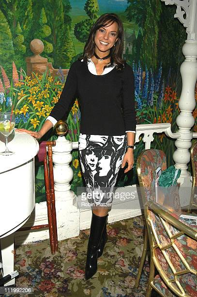 Eva La Rue Callahan during The Cooleys Anemia Foundation 4th Annual Winter Gala at Tavern on the Green in New York NY United States