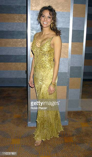 Eva La Rue during All My Childrens 35th Anniversary Celebration benefitting Broadway Cares Equity Fights Aids at The Rainbow Room in New York City...