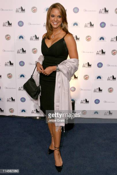 Eva La Rue during Griffith Observatory ReOpening Galactic Gala at Griffith Observatory in Los Angeles CA United States