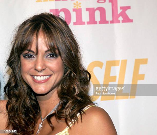 Eva La Rue during The Young Survival Coalition's 5th Anniversary Celebration Presented by Self Magazine at Angel Orensanz Foundation in New York City...