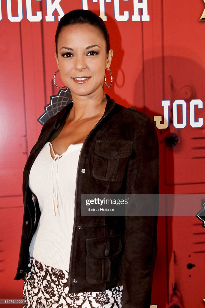 <a gi-track='captionPersonalityLinkClicked' href=/galleries/search?phrase=Eva+LaRue&family=editorial&specificpeople=226694 ng-click='$event.stopPropagation()'>Eva LaRue</a> arrives to the 'Jock Itch' Book Release Party at Eden on April 20, 2011 in Hollywood, California.