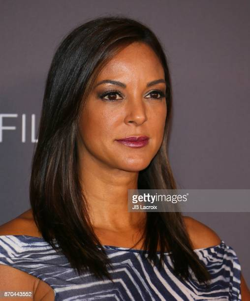 Eva LaRue attends the 2017 LACMA Art Film Gala Honoring Mark Bradford and George Lucas presented by Gucci at LACMA on November 4 2017 in Los Angeles...