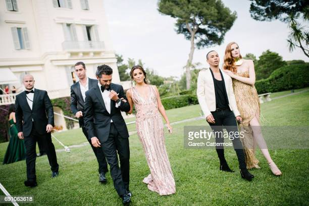 Eva Longoria and her husband Jose Baston attend the amfAR Gala Cannes 2017 at Hotel du CapEdenRoc on May 25 2017 in Cap d'Antibes France